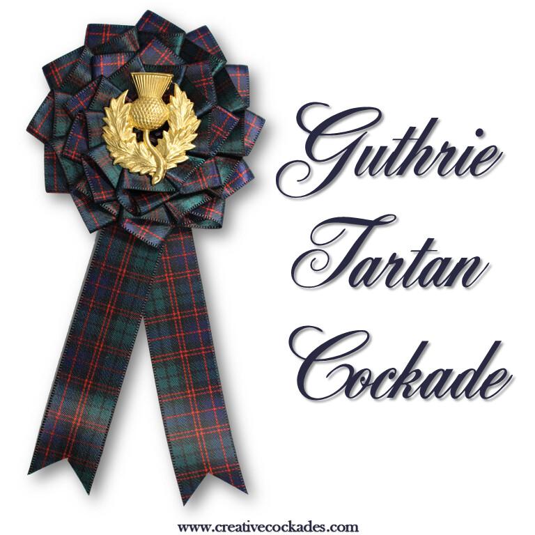 Guthrie Tartan Cockade