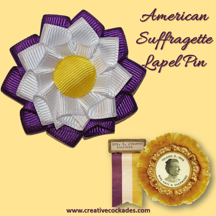 American Suffragette Lapel Pin