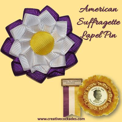 American Suffragette Lapel Pin
