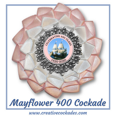 Mayflower 400th Anniversary Cockade