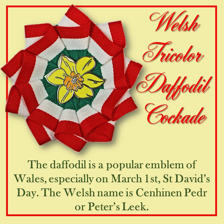 Welsh Daffodil Cockade