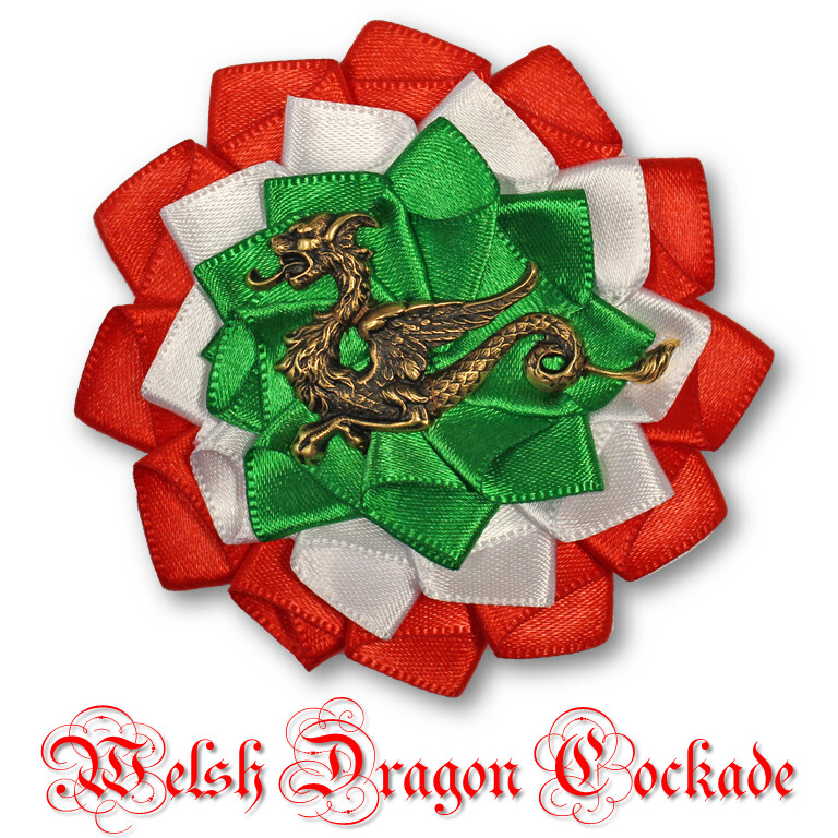 Welsh Dragon Cockade