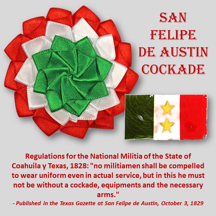 San Felipe de Austin Cockade