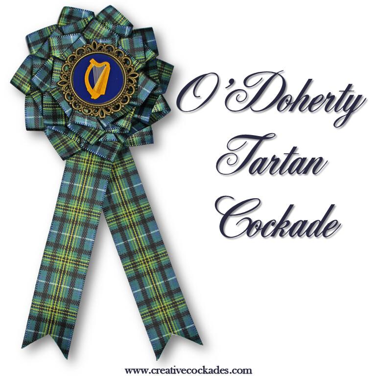 O'Doherty Tartan Cockade