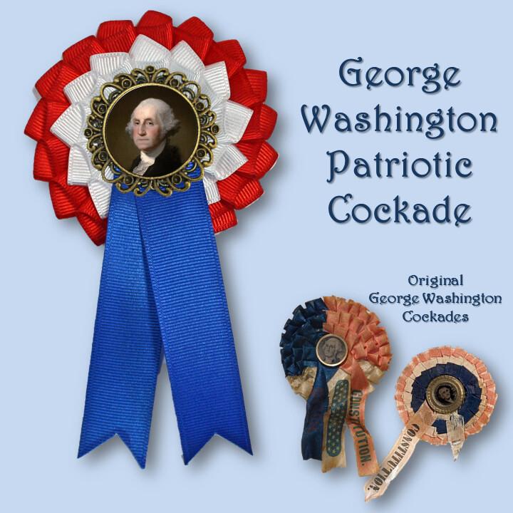 George Washington Tricolor Cockade