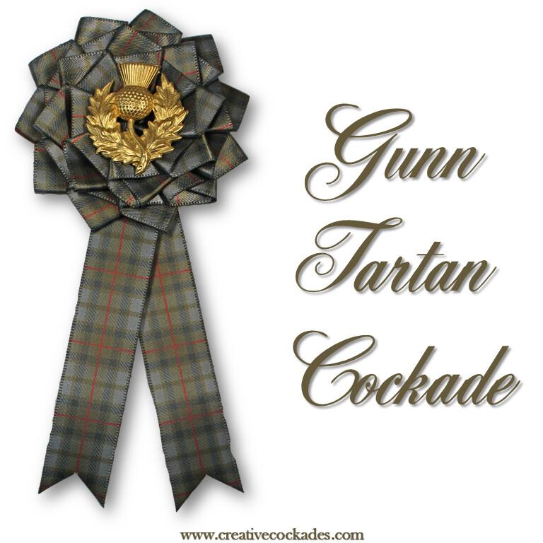 Gunn Tartan Cockade