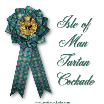 Isle of Man Tartan Cockade