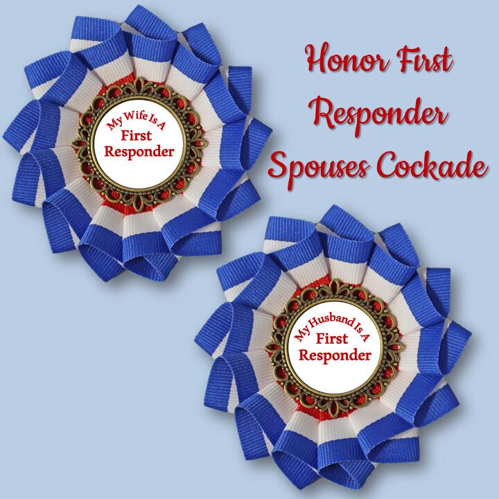 Honor First Responder Spouses Cockade