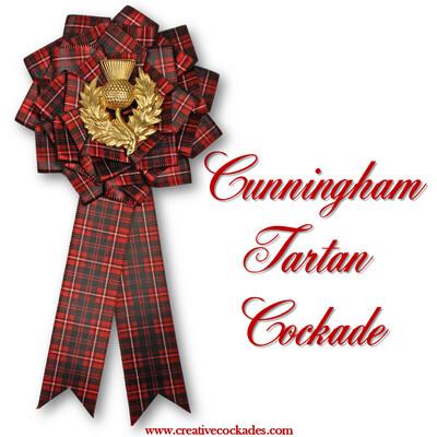 Cunningham Tartan Cockade