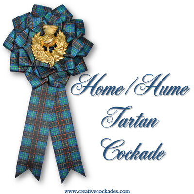 Home/Hume Tartan Cockade
