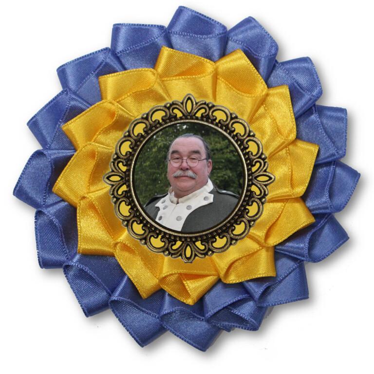 Ronnie Lail Memorial Cockade
