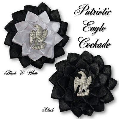 Patriotic Eagle Cockade