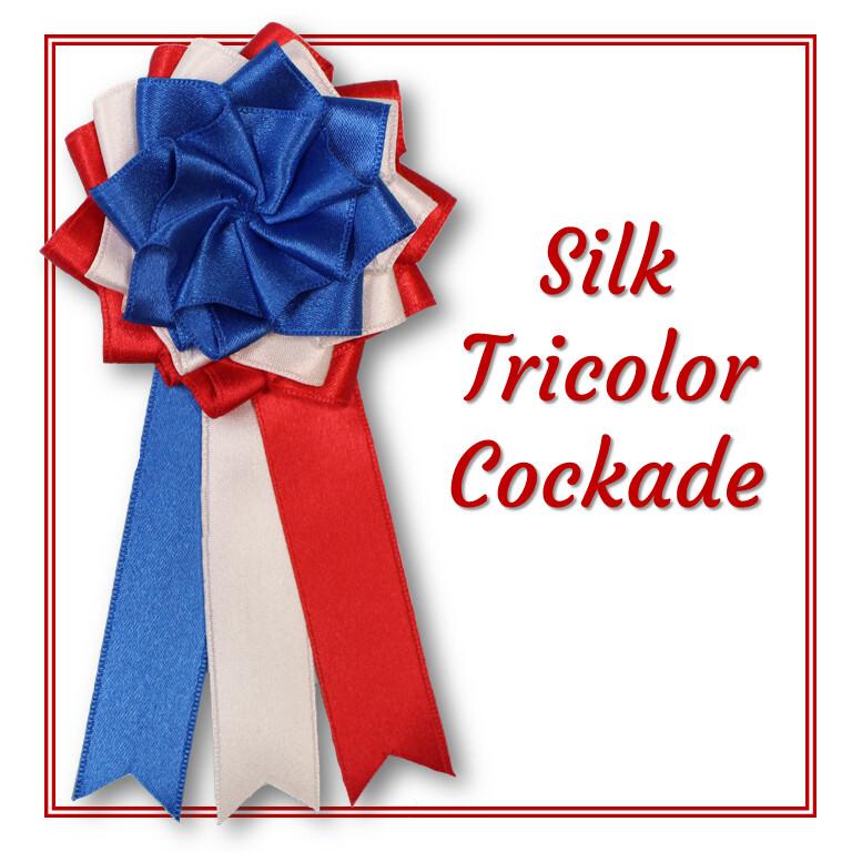 Silk Tricolor Cockade