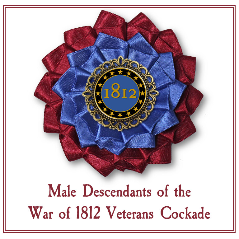 Male Descendants of War of 1812 Veterans