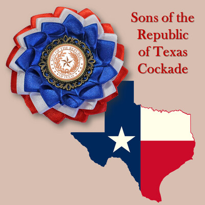 Sons of the Republic of Texas Cockade