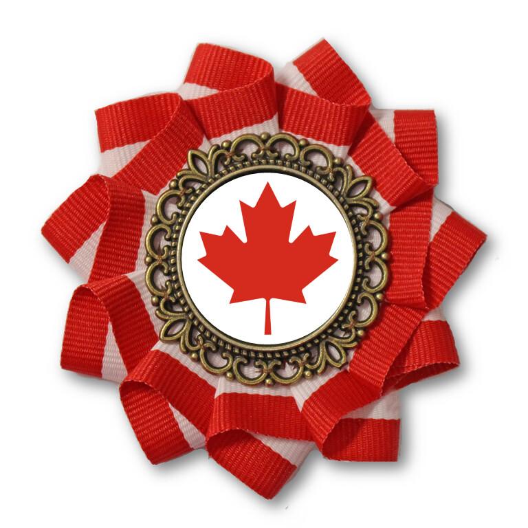 Canada Day Cockade