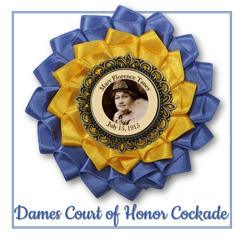 Dames Court of Honor Cockade
