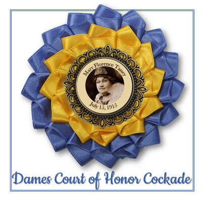 Dames Court of Honor Cockade