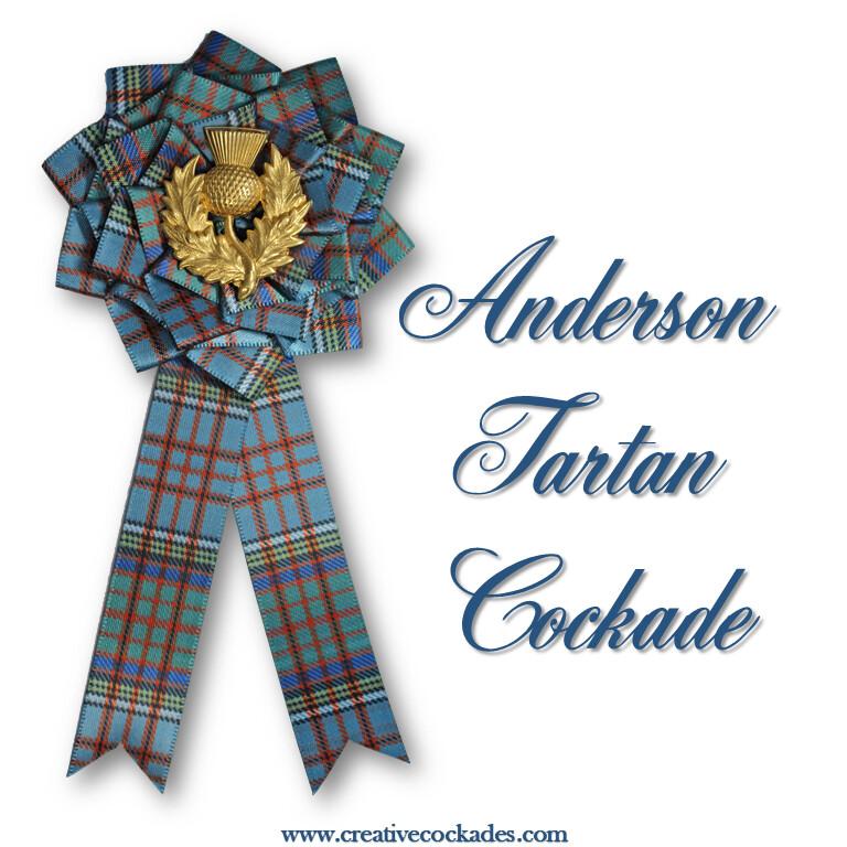 Anderson Tartan Cockade