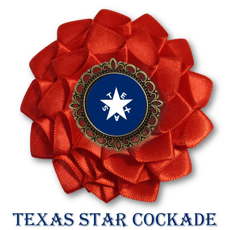 Texas Star Cockade