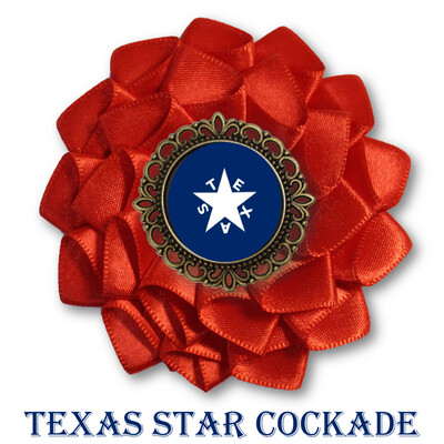 Texas Star Cockade