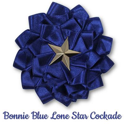 Bonnie Blue Lone Star Cockade