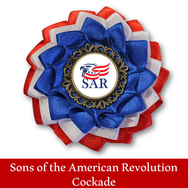 Sons of the American Revolution Cockade