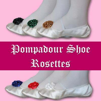 Pompadour Shoe Rosettes