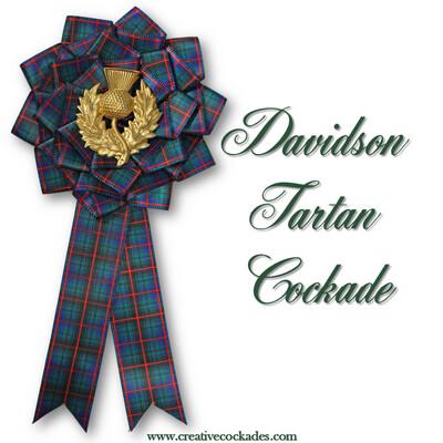 Davidson Tartan Cockade