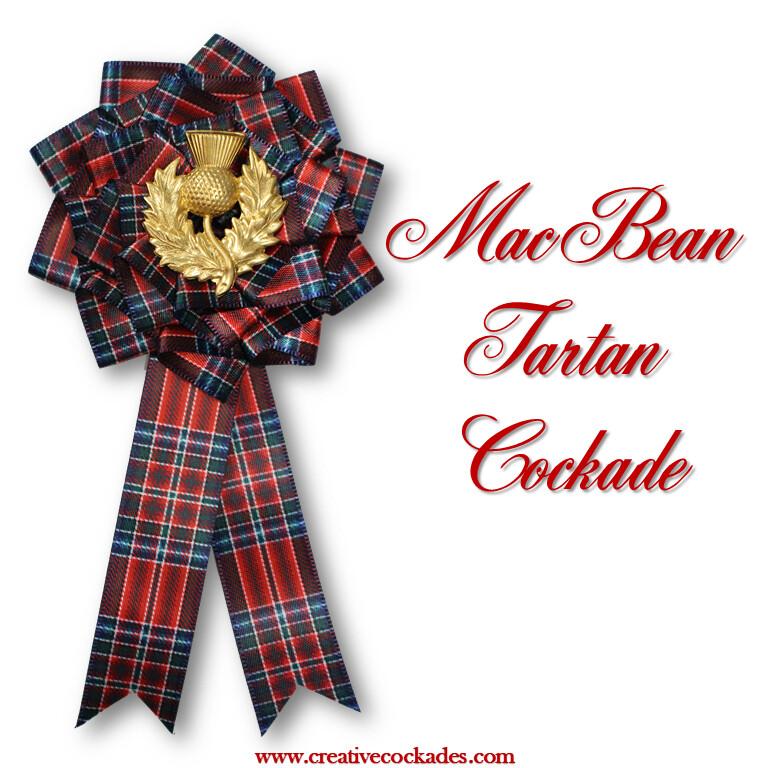 MacBean Tartan Cockade
