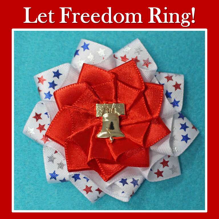 Let Freedom Ring Cockade