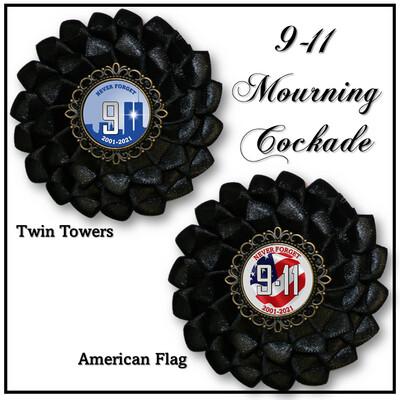 9-11 Mourning Cockade