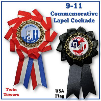 9-11 Lapel Cockade