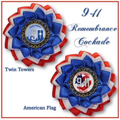 9-11 Remembrance Cockade