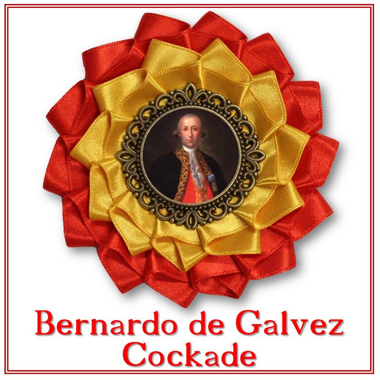 Bernardo de Galvez Cockade