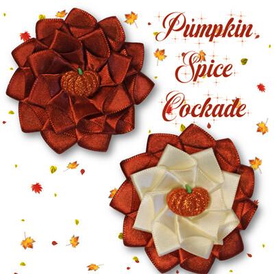 Pumpkin Spice Cockade