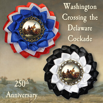 Washington Crossing the Delaware Cockade