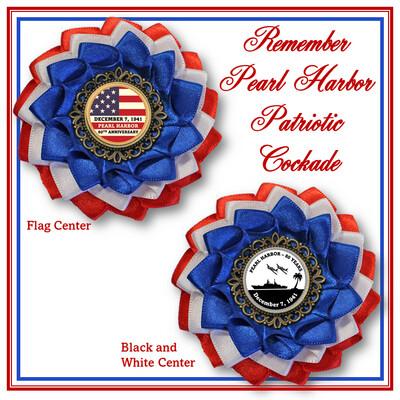 Pearl Harbor Patriotic Cockade
