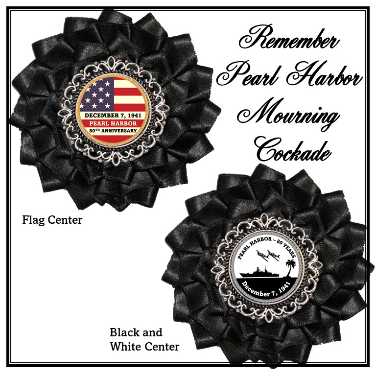 Pearl Harbor Mourning Cockade