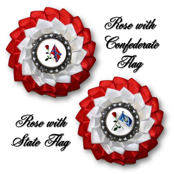 Order of Confederate Rose Cockade