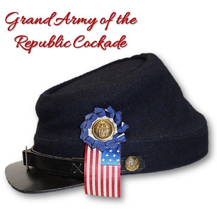 GAR Flag Cockade
