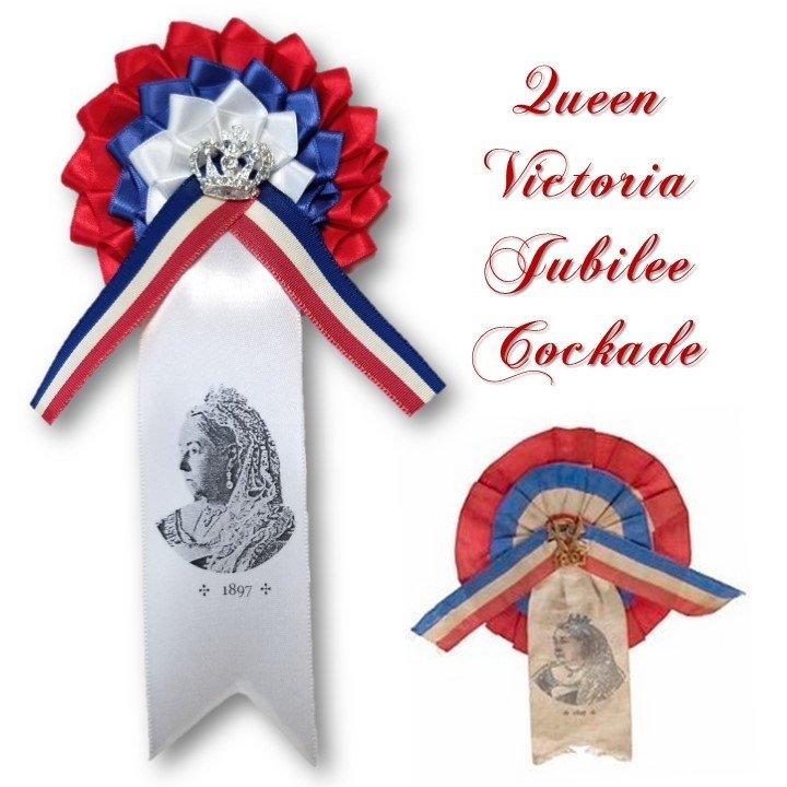 Queen Victoria Jubilee Cockade