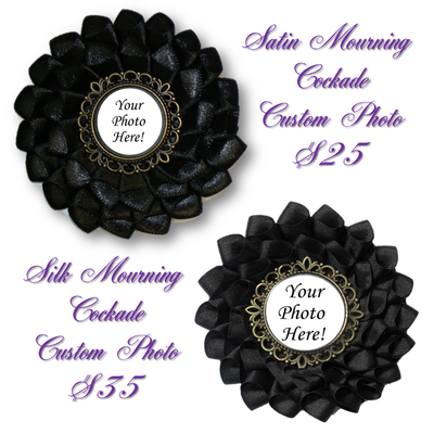Custom Mourning Cockade