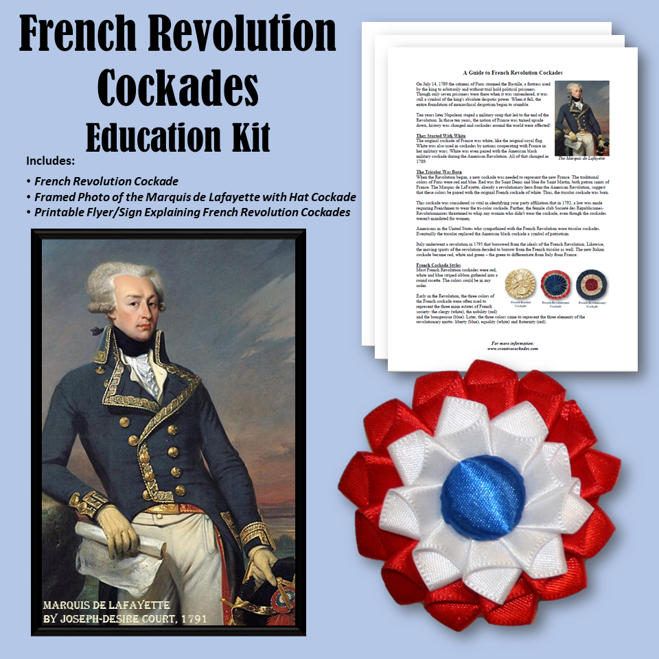 French Revolution Cockades - Education Kit
