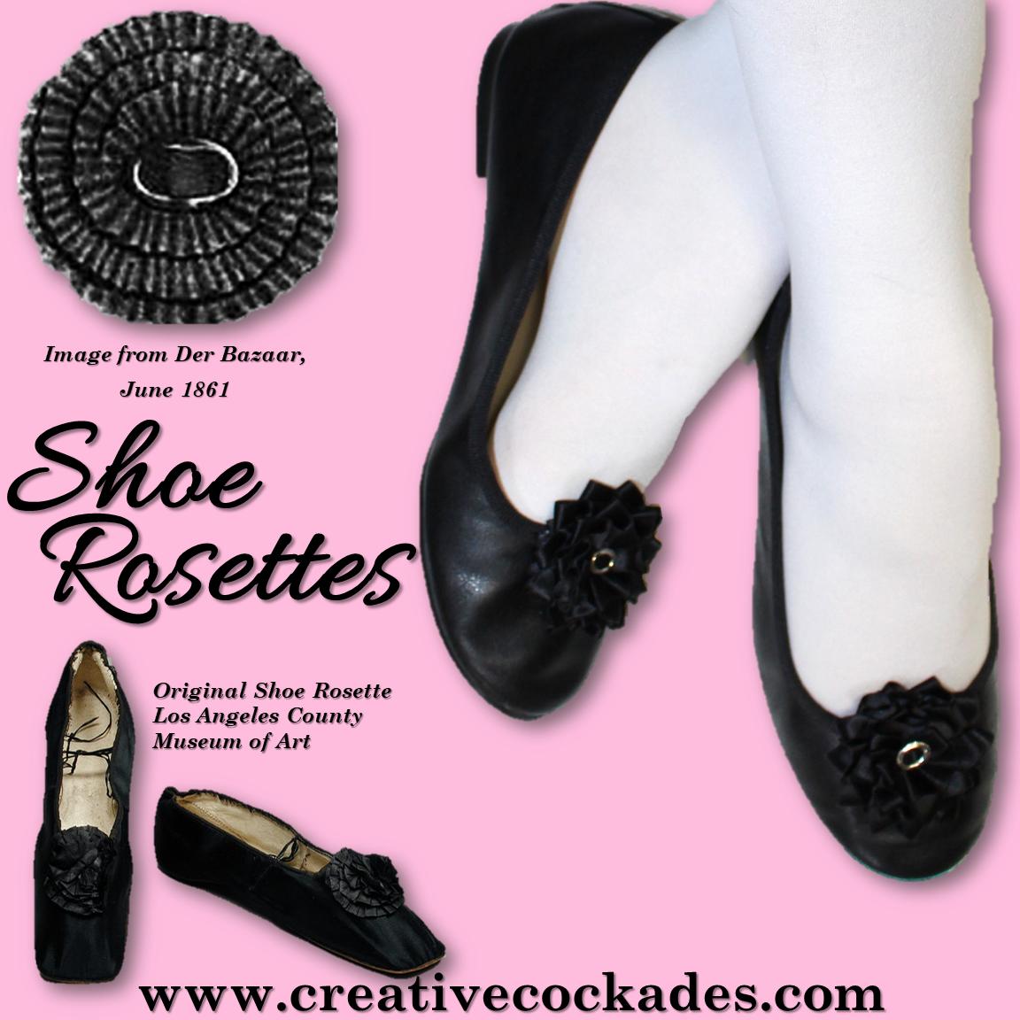 Silk Shoe Rosettes