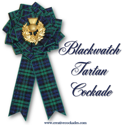 Blackwatch Tartan Cockade