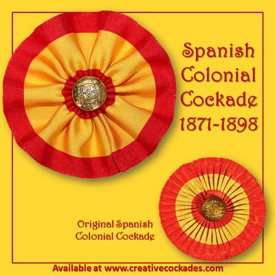 Spanish Colonial Cockade 1871-1898