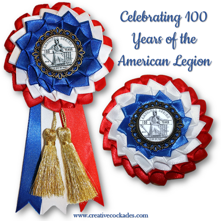 American Legion - 100 Years Cockade