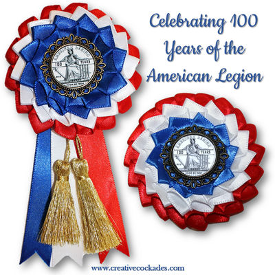 American Legion - 100 Years Cockade