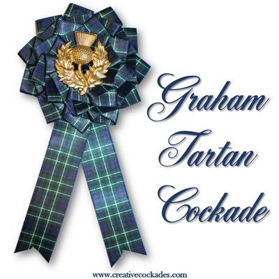 Graham Tartan Cockade